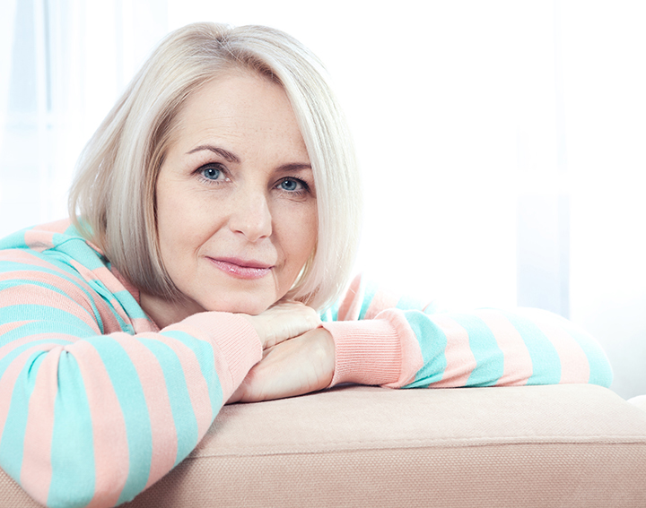 photo of an attractive senior woman | Laser Med Skin and Vein Clinic
