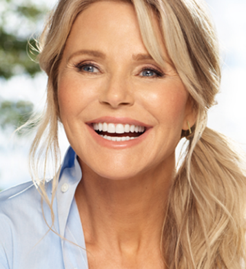 Christie Brinkley Ultherapy spokesperson