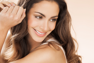 CO2 Laser Treatments | portrait of beautiful, smiling woman