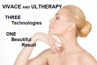non-surgical facelift Vivace and Ultherapy